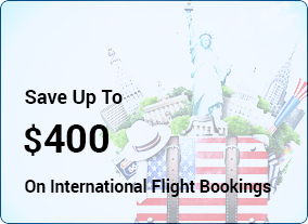 Save Up To $400 on International Flight Bookings